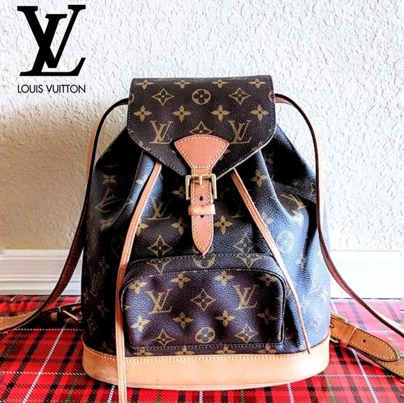 202a948e93ba Louis Vuitton Handbags - 🆕Louis Vuitton Montsouris MM Backpack Monogram